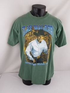 VTG Original 1997 Clay Walker Rumor Has It Country Music Tour TShirt Adult  Large