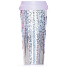 ban.do 'Hot Stuff' Thermal Travel Mug found on Polyvore featuring home, kitchen & dining, drinkware, fillers, accessories, kitchen, mugs, drinks, holographic and ban.do