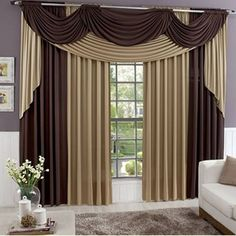 Combination Of Different Colors 10 Curtain Ideas For Living Room ...