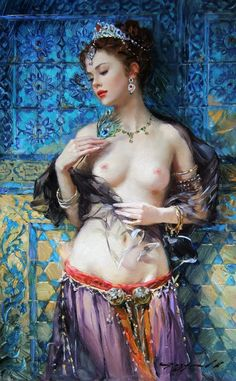 Maher Art Gallery: RIDDLE OF THE EAST ... KONSTANTIN RAZUMOV