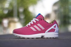 adidas Originals ZX FLUX Weave Red/Leopard