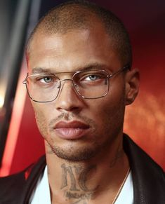 Jeremy Meeks Beautiful Men Faces, Black Is Beautiful, Beautiful Boys, Beautiful People, Breaking Bad Poster, Moda Blog, Mens Glasses, Male Face, Attractive Men