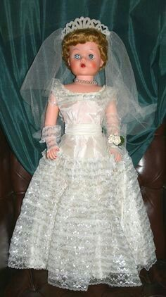 Betty The Beautiful Bride Vintage 1950's Doll I had her!! Also came wi…