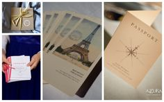 Program, invitation inspiration, travel inspiration
