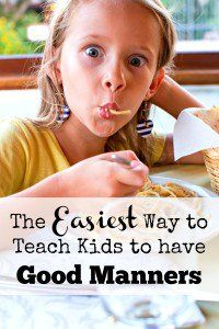 Teaching manners to kids doesn't have to be difficult. Discover the secret to getting your kids to use good manners the easy way -- there doesn't even need to be any teaching involved!