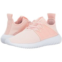 adidas Originals Tubular Shadow (Icey Pink/White) Women's Running... ($100) ❤ liked on Polyvore featuring shoes, athletic shoes, breathable running shoes, high heeled footwear, high heel shoes, white athletic shoes and pink shoes