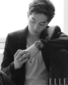 StyleKorea — Nam Joo Hyuk for Elle Korea October Korean Star, Korean Wave, Korean Men, Nam Joo Hyuk Lee Sung Kyung, Jong Hyuk, Asian Actors, Korean Actors, Nam Joohyuk, Weightlifting Fairy Kim Bok Joo