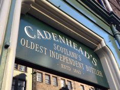 The oldest independent whisky bottler in Scotland.