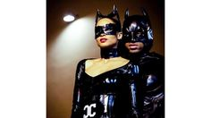 The Best Celebrity Halloween Costumes of 2015 | Ciara and Russell Wilson Russ threw his girlfriend a surprise costume party to ring in her 30th birthday on October 25. She and bae donned matching latex Catwoman and Batman costumes! Love their love.