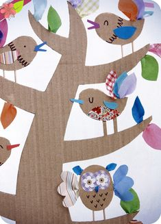 Créations récup', Emily Bone et Leonie Pratt, Éditions Usborne Kindergarten Crafts, Preschool Art, Diy For Kids, Crafts For Kids, Arts And Crafts, Spring Projects, Projects To Try, Recycled Paper Crafts, Earth Craft