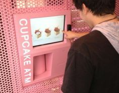 Cupcake ATM in Manhattan!!! What? This kind of thing exists!? Definitely on my bucket list!