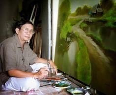 Творчество вьетнамского художника Данг Ван Кана (Dang Van Can)