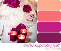 Wedding color scheme :)