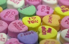 Make Valentine Candy Hearts With Your Own Message
