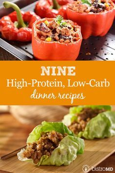 Lean proteins can foster health by facilitating muscle mass, aiding in weight loss, and reducing the risk of chronic diseases. Whether coming back from a long workday or intense evening workout, regenerate with these high-protein, low-carb dinners. High Protein Dinner, High Protein Low Carb, High Protein Recipes, Low Carb Diet, Healthy Recipes, Foods High In Protein, Easy High Protein Meals, Lean Recipes, Healthy Snacks
