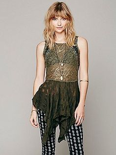 e24142f85976d9 Free People FP X Back To Narnia Top at Free People Clothing Boutique Casual  Tops,
