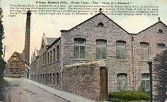 Printed Postcard 1913 Early & Co Blanket Mills Witney Oxfordshire in Collectables, Postcards, Topographical: British | eBay