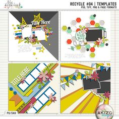 Recycle #04 | Templates