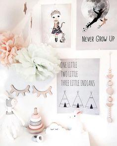 Girl's Nursery in Soft Tones - Petit & Small