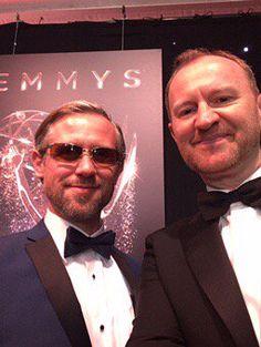 """Ian Hallard on Twitter: """"Emmys red carpet selfie. https://t.co/okiWiJ60II"""""""