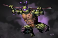 Ninja Turtles DONNY by SaviorsSon on DeviantArt