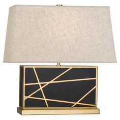 Buy the Robert Abbey 532 Deep Patina Bronze / Modern Brass Direct. Shop for the Robert Abbey 532 Deep Patina Bronze / Modern Brass Bond Table Lamp with a Bisque Linen Shade and save. Brass Table Lamps, Brass Lamp, Table Lamp Sets, Contemporary Table Lamps, Modern Contemporary, Modern Table, Robert Abbey Lighting, Bond, Geometric Painting