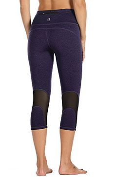 2061ee9c9cd572 Maternity Outfits - oversized maternity leggings : icyzone Yoga Pants for  Women High Waisted Workout Leggings Activewear Athletic Capris Exercise ...