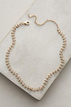 Infini Collar Necklace #anthropologie