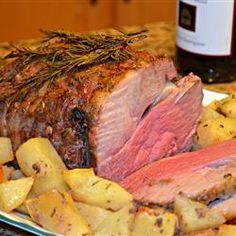 Easter Dinner Main Course--Easy Leg of Lamb from Allrecipes recipe link http://allrecipes.com/Recipe/Easy-Leg-of-Lamb/?prop24=hn_slide3_Easy-Leg-of-Lamb&evt19=1