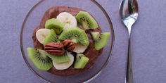 mus z kiwi Kiwi, Nutella, Acai Bowl, Healthy Recipes, Healthy Food, Breakfast, Ethnic Recipes, Acai Berry Bowl, Healthy Foods