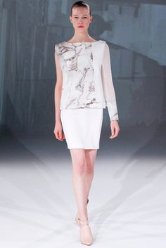 Chalayan Spring 2013 Ready-to-Wear Fashion Show - Amanda Nimmo (Elite)