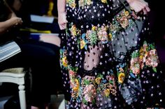 Marchesa Spring 2015 RTW – Backstage – Vogue
