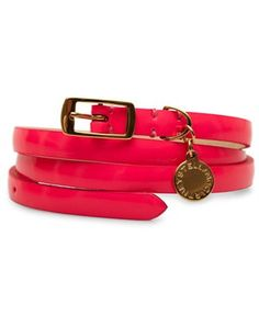 cute belt! love the color