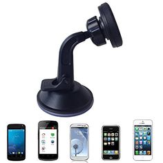 Magnetic Cell Mount, this new cell mount uses magnetic power to keep your phone in place!