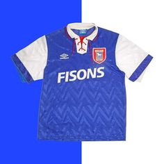 """394f7ad5f Football Shirt Collective on Instagram  """"Ipswich should gone for the  drawstring collar at the weekend Link in bio ☝ """""""
