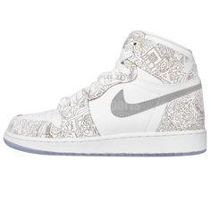 Nike Air Jordan 1 Retro Hi OG Laser BG GS White Silver Youth Girls Womens Shoes  http://www.ebay.com.au/itm/Nike-Air-Jordan-1-Retro-Hi-OG-Laser-BG-GS-White-Silver-Youth-Girls-Womens-Shoes-/311292693825?pt=LH_DefaultDomain_15&var=&hash=item8e1f3c0034