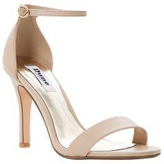 3147e589e499c Buy Dune Hydro Heeled Sandals Online at johnlewis.com Bride Shoes