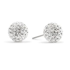 ORIGAMI OWL LIMITED EDITION SILVER SPARKLE STUD EARRINGS  | HOLIDAY COLLECTION 2015 https://staciemarshman.origamiowl.com/shop/collections/accessorize