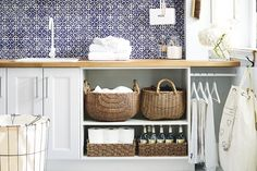 Laundry day doesn't have to be a chore with these simple steps to an efficient space.