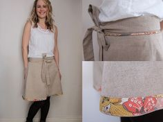Tilly and the Buttons: cute skirt detail