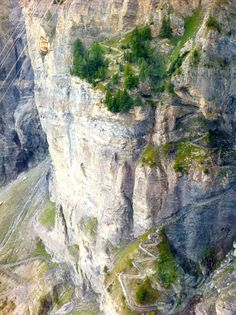 Leukerbad trail, Switzerland