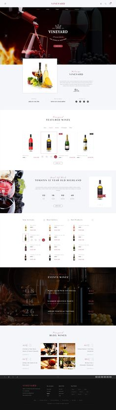 1. Introduction   VINEYARD is a clean and modern PSD template for e-commerce websites. You can customize it very easy to fit your business needs. If you like my theme, please rate it 5 stars. It'...