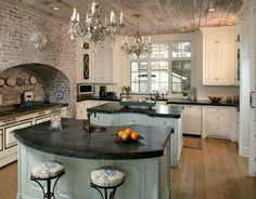 Seaside Home With Old World Flair