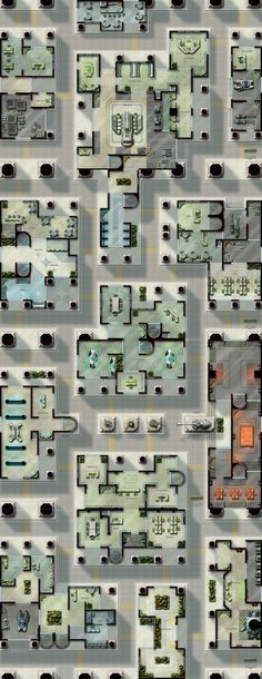 """Capital City"" sci-fi map pack."