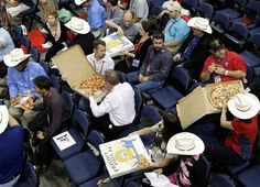 The conventions: They came, they cheered, they chowed down (Charlie Neibergall / AP)