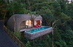 Treehouses are loved by children all over the world, but nowadays you don't have to be a child to en... - Keemala Hotel
