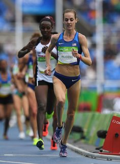 Molly Huddle Photos Photos - Molly Huddle of the United States competes in the…