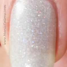 Red Carpet Manicure So Icy Closeup