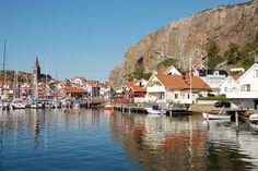 Fishing village Fjallbacka - Sweden