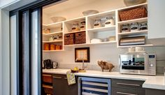 Love a secret pantry!